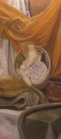 Doll in basket