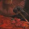 Raven en rouge