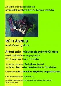Réti Ágnes-Meghívó